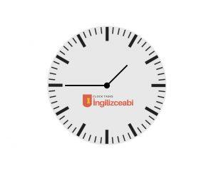 İngilizce Saat Alıştırmaları