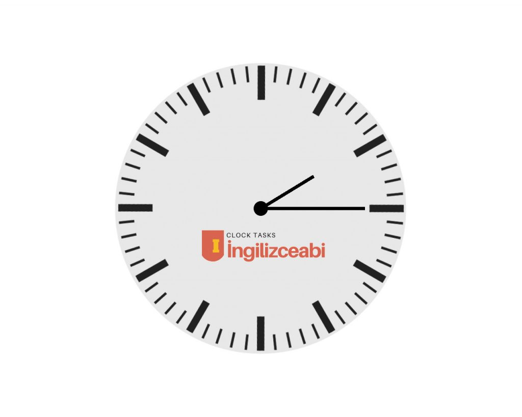 İngilizce Saat Örnekleri ve Cevapları