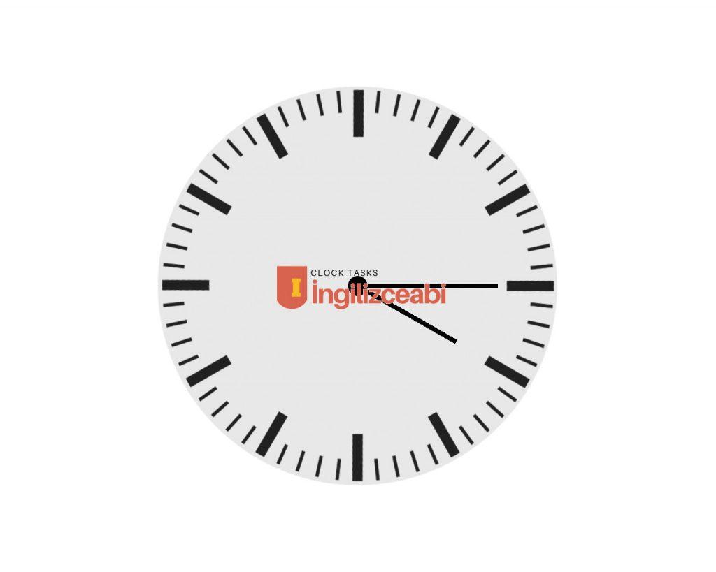 4.15 - İngilizce Saatler