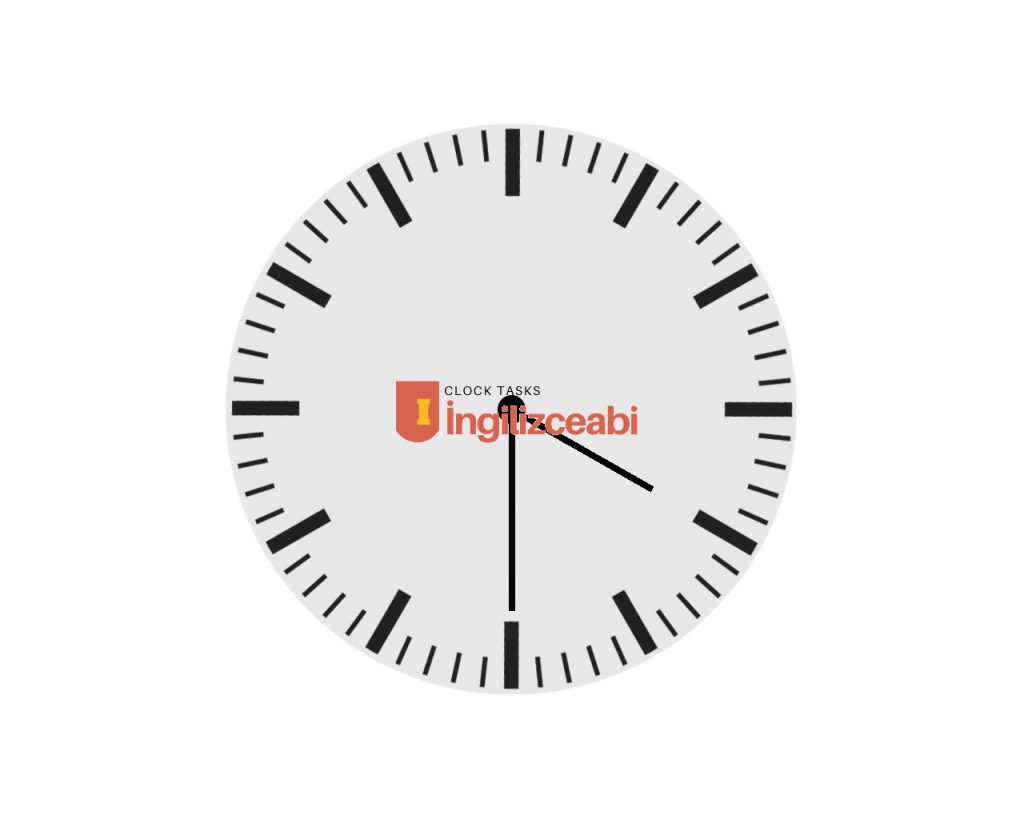 4:30 - İngilizce Saatler