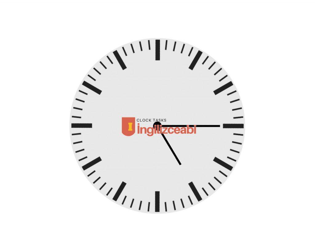 5:15 - İngilizce Saatler