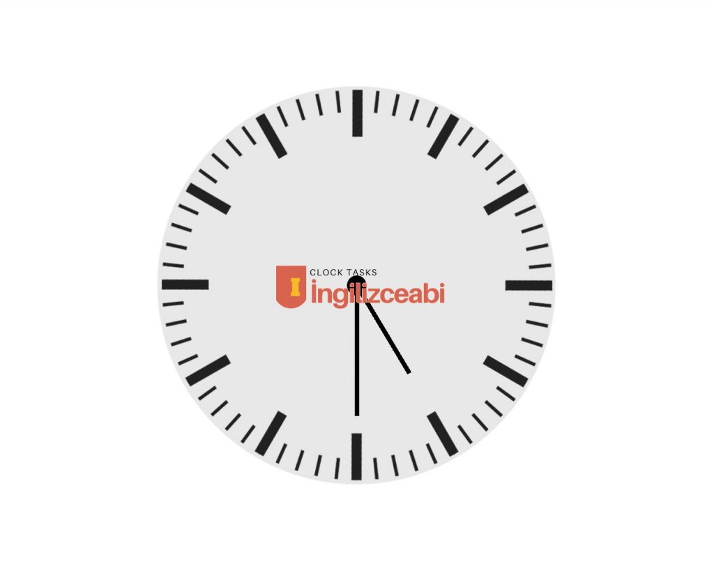 5.30 - İngilizce Saatler