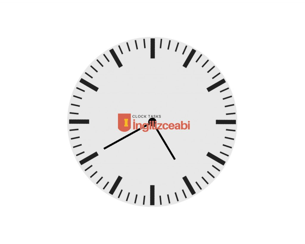5.40 - ingilizce saatler