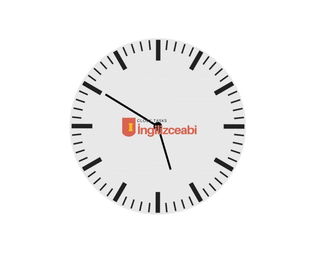 5.50 - ingilizce saatler
