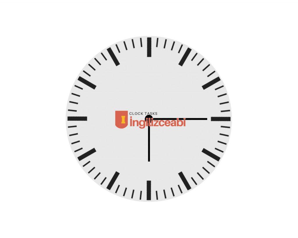 6.15 - İngilizce Saatler