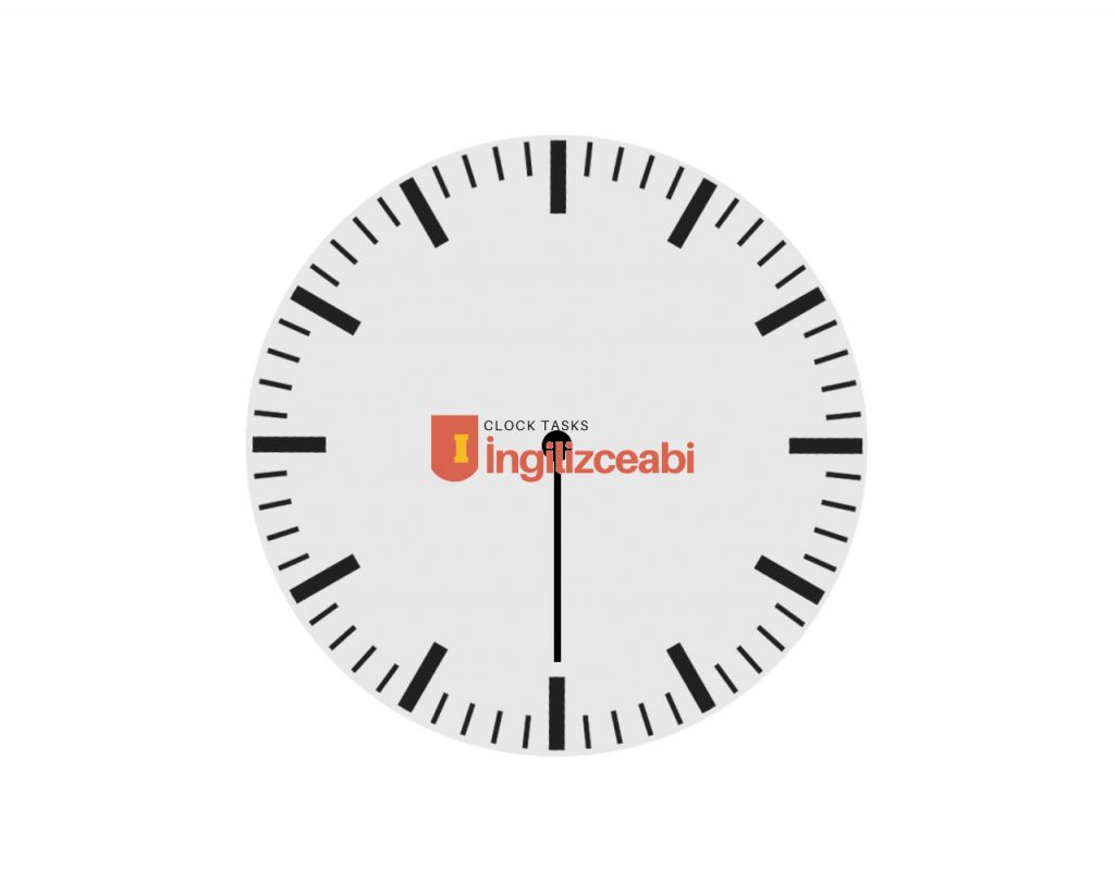 6.30 - İngilizce Saatler