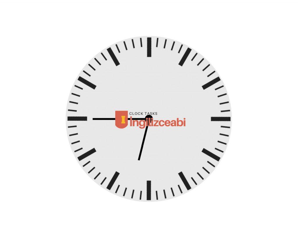 6.45 - İngilizce Saatler