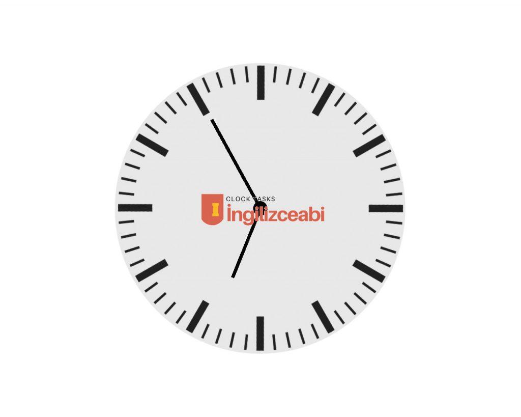 6.55 - İngilizce saatler