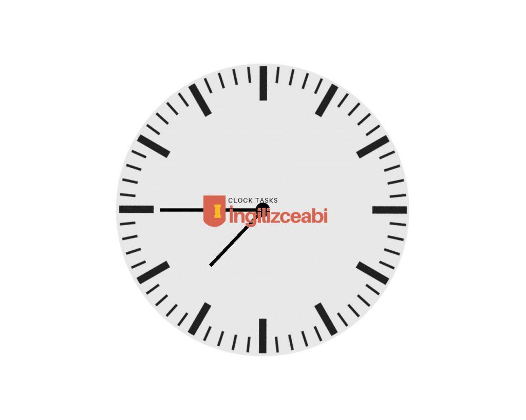 7.45 - ingilizce saatler