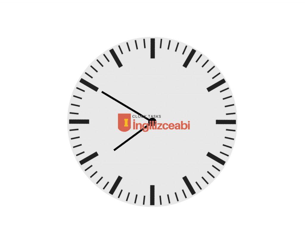 7.50 - ingilizce saatler