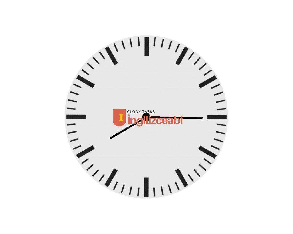 8.15 - İngilizce Saatler