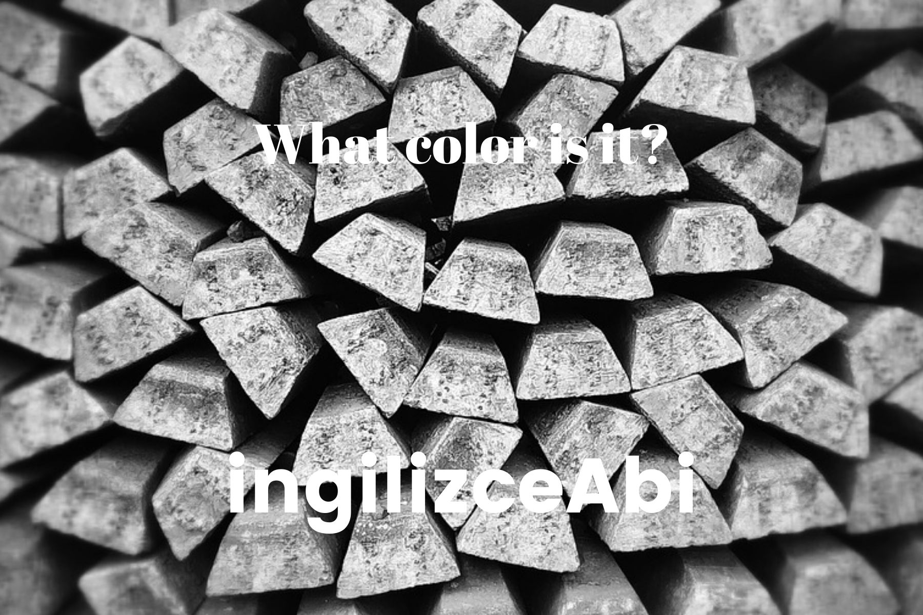 Silver Color - - ingilizce renkler - ingilizceabi