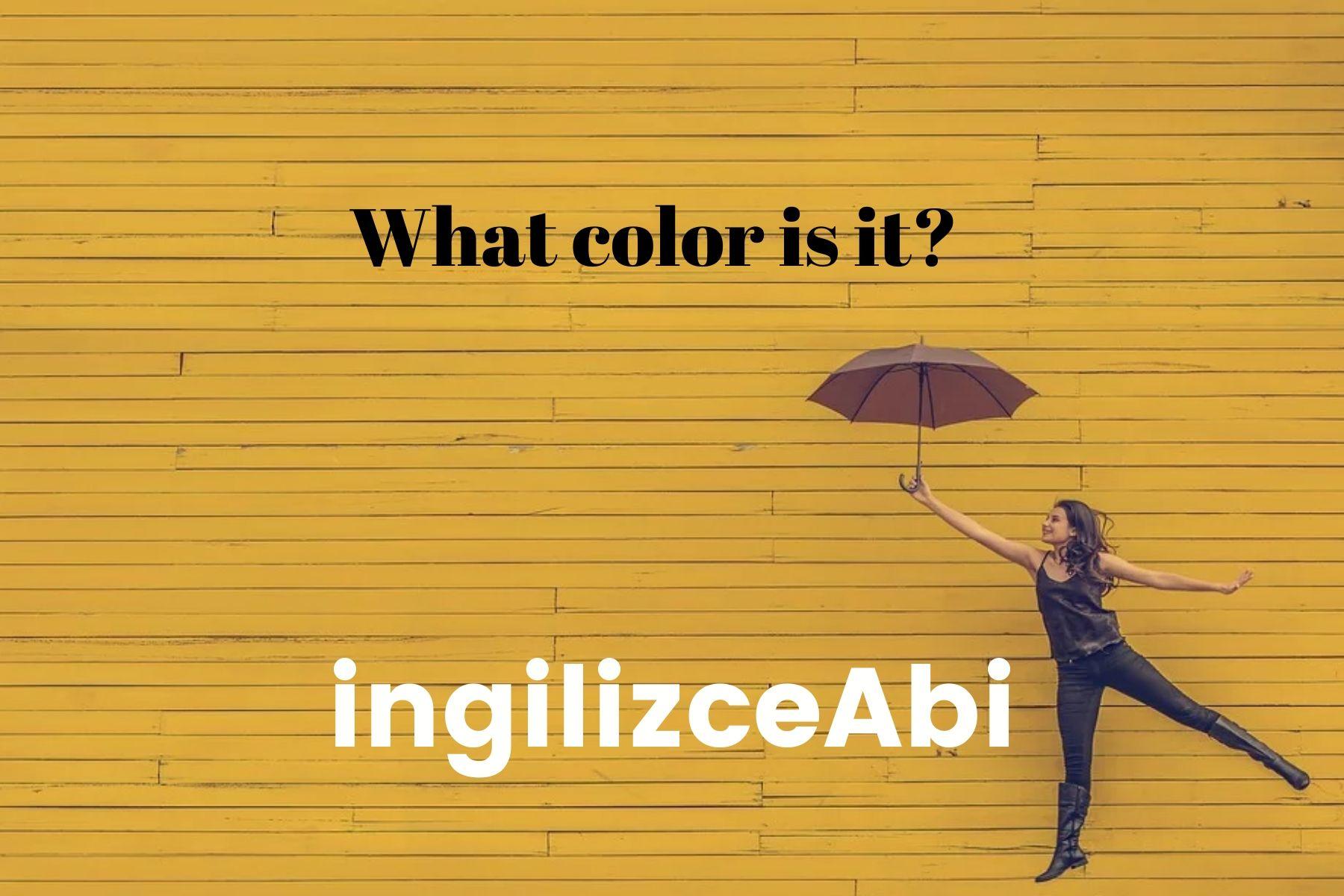 Yellow Wallpaper - ingilizce renkler - ingilizceabi